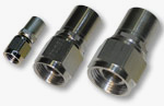 24434 Straight Flareless Fitting for industrial, aerospace, and military use from Mid-State Aerospace