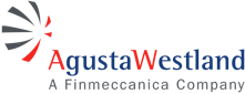 AgustaWestland a Finmeccanica Company logo, a manufacturer carried by Mid-State Aerospace Inc.